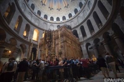 В Єрусалимі закрили Храм Гробу Господнього на знак протесту