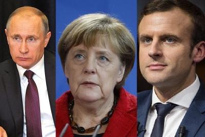У Меркель розповіли про переговори із Путіним