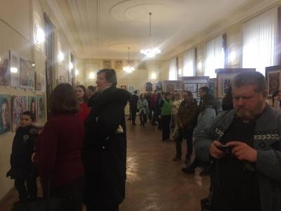 У Чернівцях у Художньому музеї відкрили виставку «Нові імена» (ФОТО)