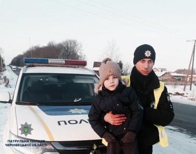 На Буковині поліцейські допомогли втілити мрію трьох хлопчиків (ФОТО)