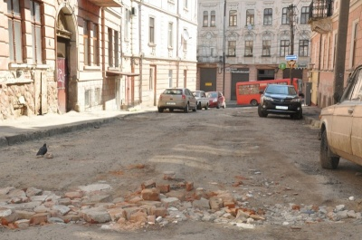 У Чернівцях вулицю у центрі хочуть капітально відремонтувати за шість мільйонів гривень