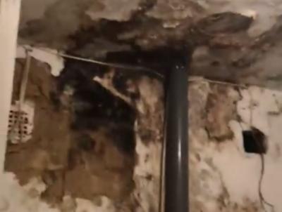 «Це новий вид штукатурки»: у мережі з'явилося шокуюче відео з лікарні на Фастівській у Чернівцях