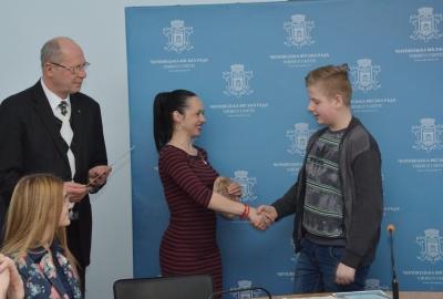 У Чернівцях відзначили переможців міського конкурсу читців