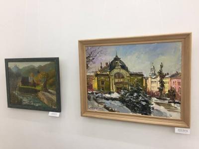 У Чернівцях з нагоди Шевченківських днів відкрили художню виставку у «Вернісажі»