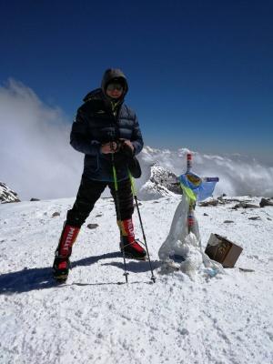 «За сходження схуднув на 10 кілограмів», -альпініст із Чернівців розповів, як підкорив найвищу вершину Південної Америки