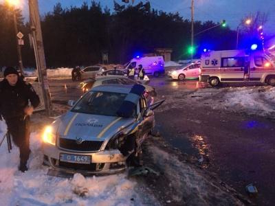 Через п'яних водіїв постраждало п'ятеро поліцейських