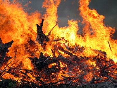На Буковині у пожежі згорів столярний цех