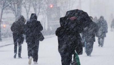 На Буковині штормове попередження: сніг і хуртовини