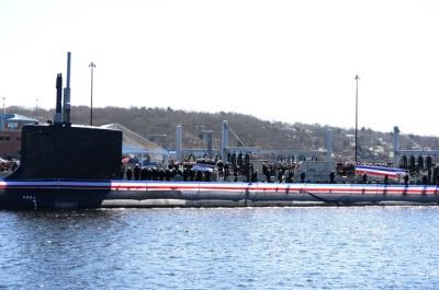 Флот США підсилив новий атомний підводний човен USS Colorado