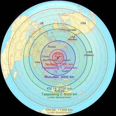 Німецька розвідка вважає, що ядерні ракети КНДР датні досягти Центральної Європи