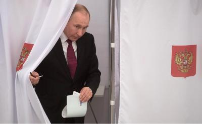 Російські екзит-поли: Путін набирає понад 70% голосів