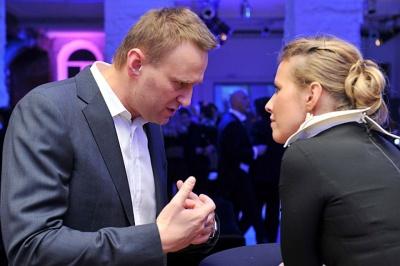 """Навальний заявив, що Собчак  """"була частиною махінації"""" влади на виборах"""