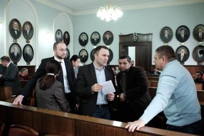 У Чернівецькій міськраді фракція «Самопоміч» заявила про саморозпуск