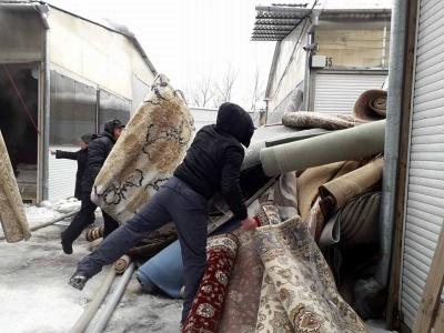 Директор Калинівського ринку підтвердив, що у секторі, де загорілись килими, немає пожежних гідрантів