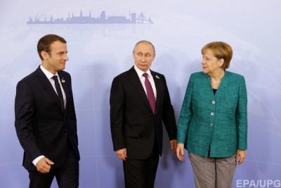 Меркель привітала Путіна з переобранням