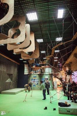 У Чернівцях відкрили сучасну школу альпінізму та скелелазання (ФОТО)