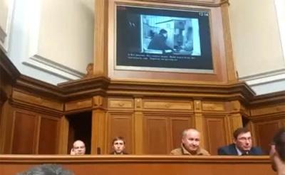 У Раді показали відеодокази причетності Савченко до підготовки теракту