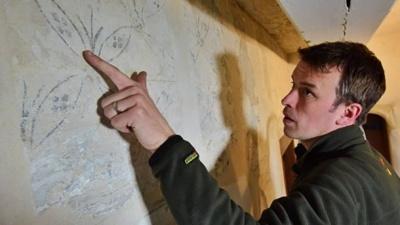 У британському замку знайшли унікальні стародавні розписи: фото