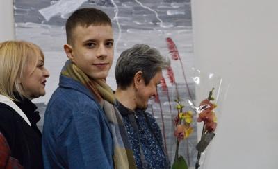 У Чернівцях відкрилась виставка особливого 13-річного художника