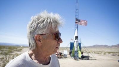 Американець здійснив перший політ на власній ракеті, щоб довести, що Земля пласка (ВІДЕО)