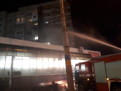 Рятувальники повідомили причину пожежі, яка сталась на балконі житлового будинку в Чернівцях