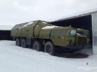 На Житомирщині виявили 200 одиниць краденої військової техніки