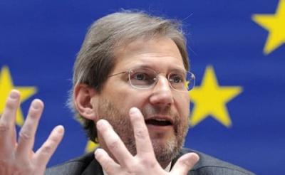 """Єврокомісар Ган: """"Українська влада не виконала своїх зобов'язань"""""""