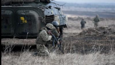 Минулої доби у зоні АТО поранено трьох військових