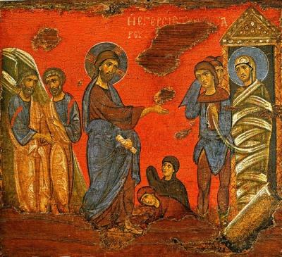 31 березня - Воскресіння праведного Лазаря