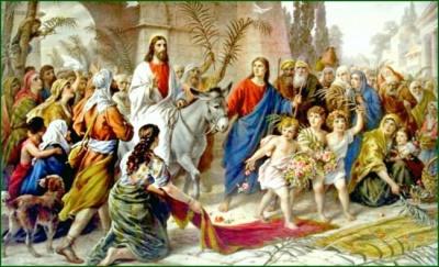 1 квітня за православним календарем: вхід Господній у Єрусалим