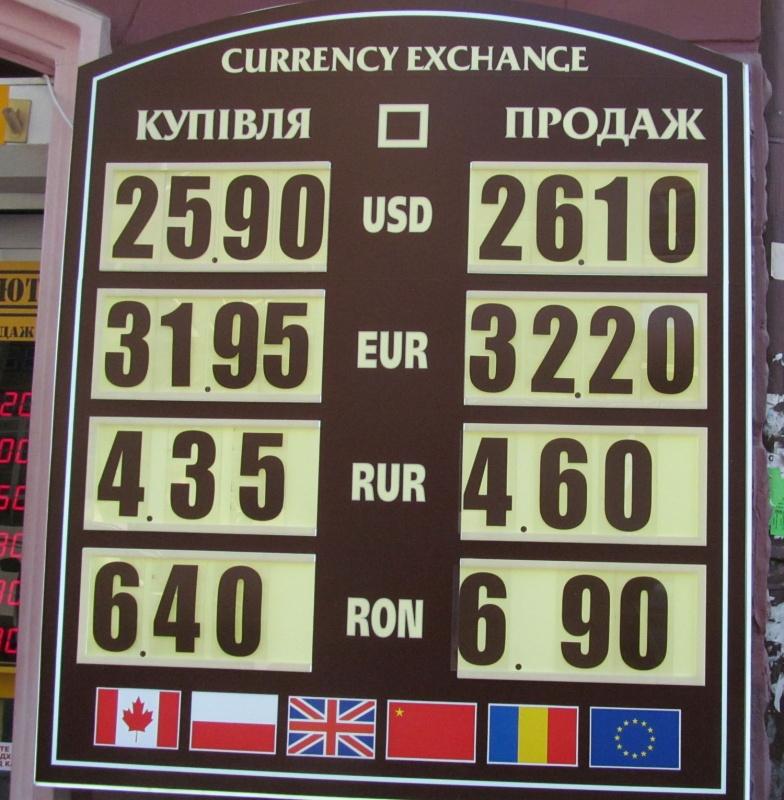 Кабмін оголосив курс долара до2021 року вУкраїні