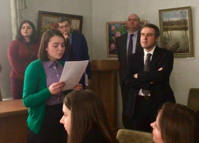 Студентка з Чернівців перемогла у конкурсі перекладів творів бельгійського поета Жоржа Роденбаха