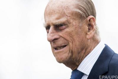 У Лондоні госпіталізували 96-річного чоловіка королеви Єлизавети II