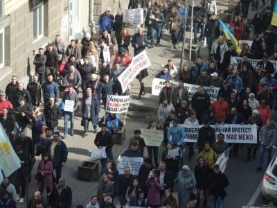 """""""Україна – не Содом"""": у Києві проходить масштабний марш за сімейні цінності"""