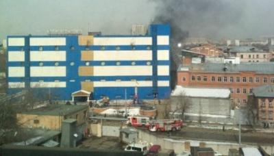 У Москві горить торговий центр