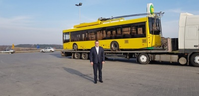 До Чернівців везуть два нові тролейбуси, - Каспрук