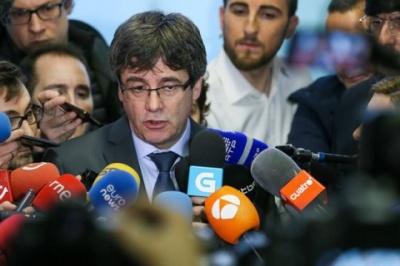 У Німеччині суд відпустив під заставу екс-президента Каталонії