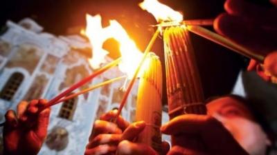 Коли і куди до України прибуде Благодатний вогонь з Єрусалиму