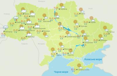 Дуже тепло: погода на Буковині 10 квітня