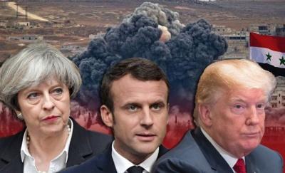 Лідери США, Британії та Франції заявили про необхідність відповісти на хіматаку в Сирії