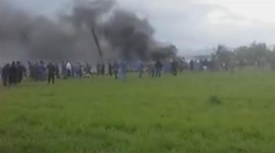 В Алжирі розбився літак із 200 пасажирами на борту