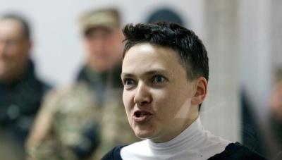 Савченко назвала умову, за якої припинить голодування