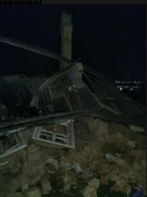 На Буковині вибухнув газовий балон: рознесло літню кухню (ФОТО)