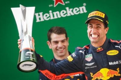 Формула 1: Гран-Прі Китаю виграв Даніель Ріккардо