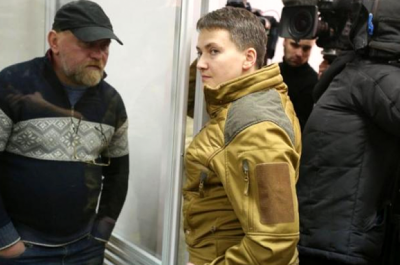 Савченко та Рубан відмовляються давати свідчення СБУ