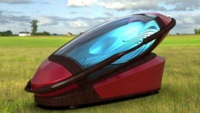 В Амстердамі на виставці продемонстрували прототип кабінки для евтаназії