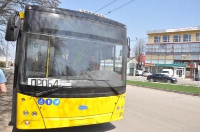 У Чернівцях перший тролейбусний рейс до Садгори буде для пасажирів безкоштовним