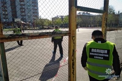 У Києві на спортмайданчику стався вибух