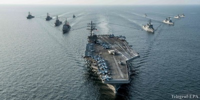 США можуть залишити авіаносець у Середземному морі для стримування Росії, – ЗМІ