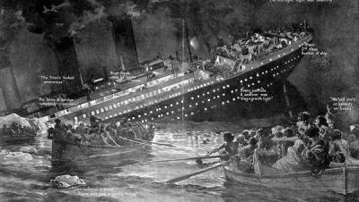"""Меню першого обіду на борту """"Титаніка"""" продали за 140 тисяч доларів"""